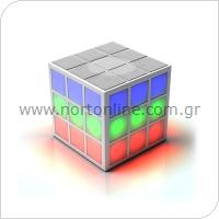 Φορητό Ηχείο Bluetooth Led Rubik's SoundCube