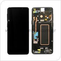 Γνήσια Οθόνη με Touch Screen Samsung G960F Galaxy S9 Μαύρο