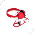 Στερεοφωνικό Ακουστικό Nokia WH-520 Coloud Knock 3.5mm Κόκκινο