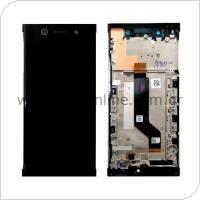 Γνήσια Οθόνη με Touch Screen & Μπροστινή Πρόσοψη Sony Xperia XA1 Ultra (Dual SIM) Μαύρο