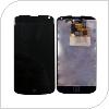 Οθόνη με Touch Screen & Μπροστινή Πρόσοψη LG E960 Nexus 4 Μαύρο