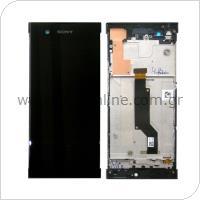 Γνήσια Οθόνη με Touch Screen & Μπροστινή Πρόσοψη Sony Xperia XA1/ XA1 (Dual SIM) Μαύρο
