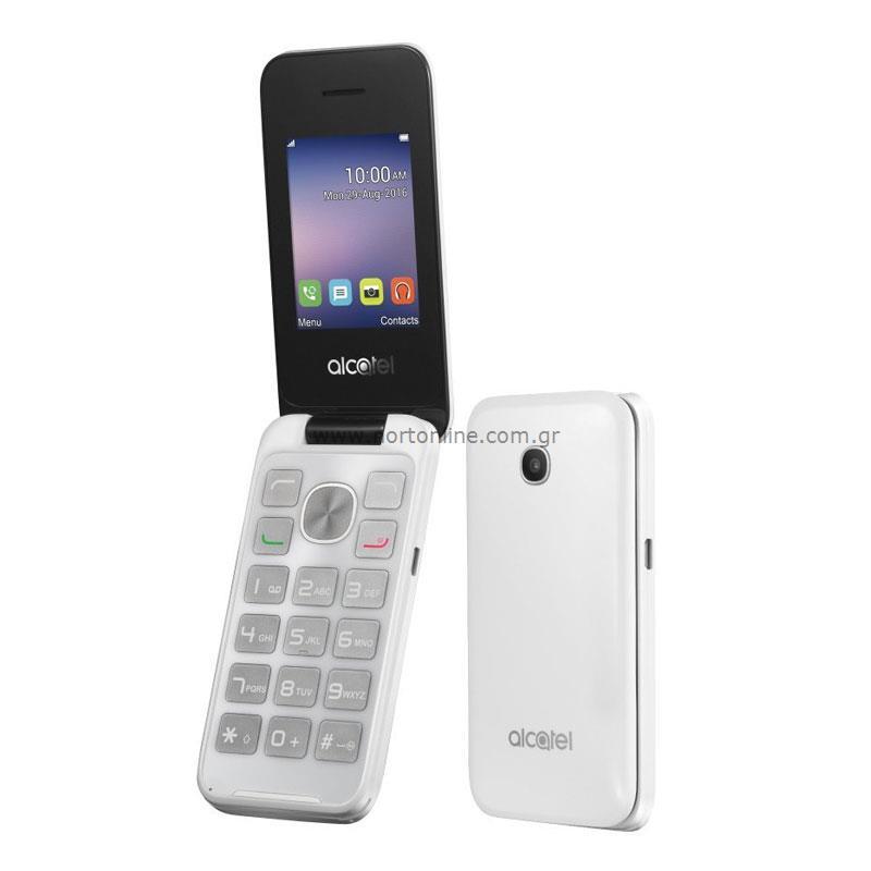 Mobile Phone Alcatel 2051D (Dual SIM) Pure White - Alcatel - Alcatel
