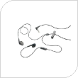 Hands Free Stereo Wired Sleek BlackBerry 3.5mm Μαύρο