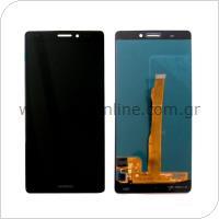 Γνήσια Οθόνη με Touch Screen Huawei Ascend Mate S Μαύρο