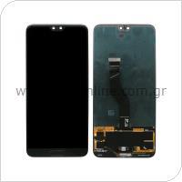 Γνήσια Οθόνη με Touch Screen Huawei P20 Pro (Dual SIM) Μαύρο
