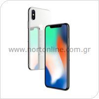 Κινητό Τηλέφωνο Apple iPhone X 64GB Ασημί