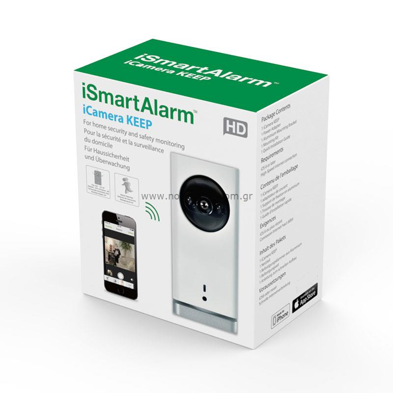 iSmartAlarm ISC3 iCamera Keep HD Camera