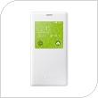Θήκη Flip S-View Samsung EF-CG800BWEG G800F Galaxy S5 mini Λευκό